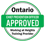 Ontario Chief Prevention Officer Approved Working at Heights Training Provider