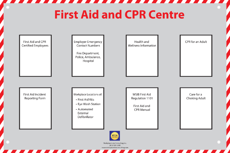 WPL_first_aid_and_cpr_centre_posting_board