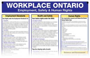 Workplace Ontario Information Board
