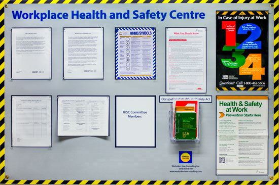 Health and Safety Posting Board
