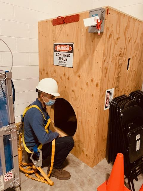 Confined Space Entry Training in Vaughan, Concord, Woodbridge, Markham, Richmond Hill, Brampton, Mississauga, Scarborough and Toronto