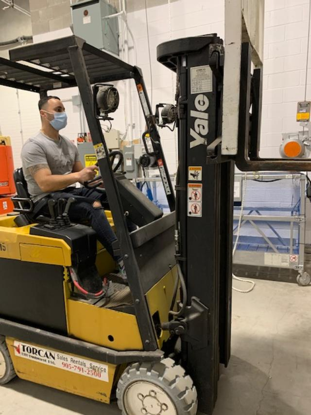 Forklift Training in Concord, Vaughan, Toronto, Mississauga, Brampton for Warehouse, Logistics, Shipping and Receiving