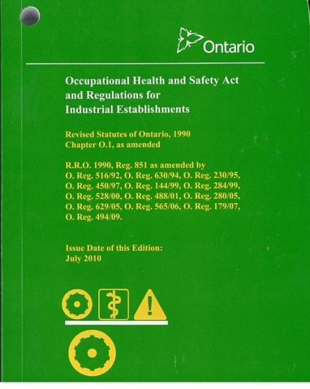 Health and Safety Law Training for Managers and Supervisors in Vaughan, Concord, Woodbridge, Markham, Richmond Hill, Brampton, Mississauga and Toronto
