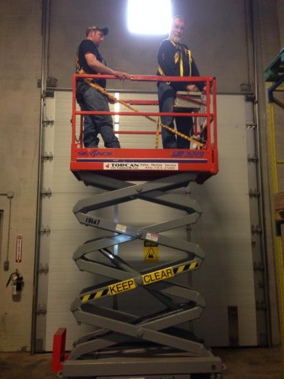 Scissor Lift Training in Vaughan, Toronto, Mississauga, Brampton, Markham