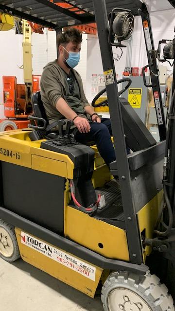 Forklift Driver Training in Vaughan, Toronto, Mississauga, Brampton, Markham