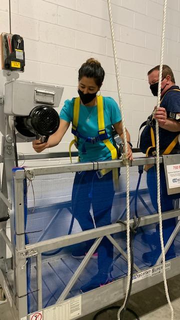 Suspended Access Equipment Training in Vaughan, Toronto, Mississauga, Brampton, Markham