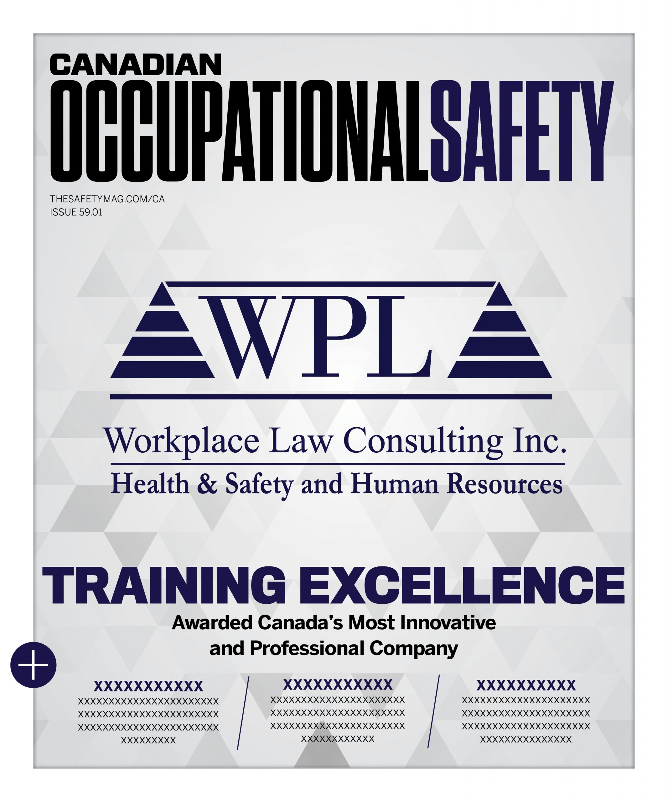 Workplace Law Consulting Receives the COS 5 Star Safety Training Award