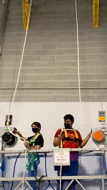 Swing Stage Operator Training in Vaughan